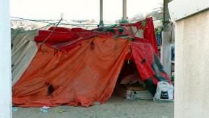 A slum in Dubai