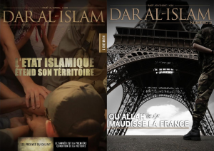The covers of the first two issues